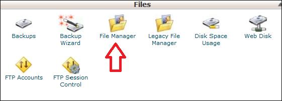 مراحل Upload فایل در Cpanel