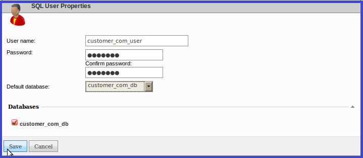 اتصال کاربر به بانک اطلاعاتی در websitepanel
