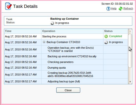 ایجاد نسخه پشتیبان از سرور مجازی (VPS)